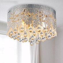 Горячее предложение! Распродажа! светодиодный потолочный светильник с кристаллами AC90-260V диаметр 40 см E14* 3 светильник для спальни/столовой потолочный светильник