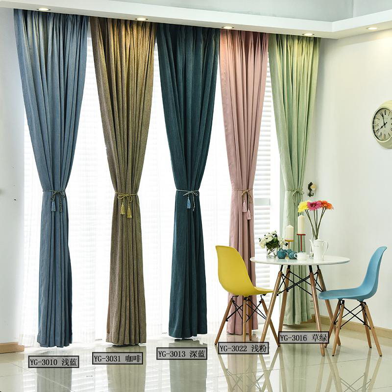 Aliexpress.com : Buy Solid Colors Blackout Curtains For