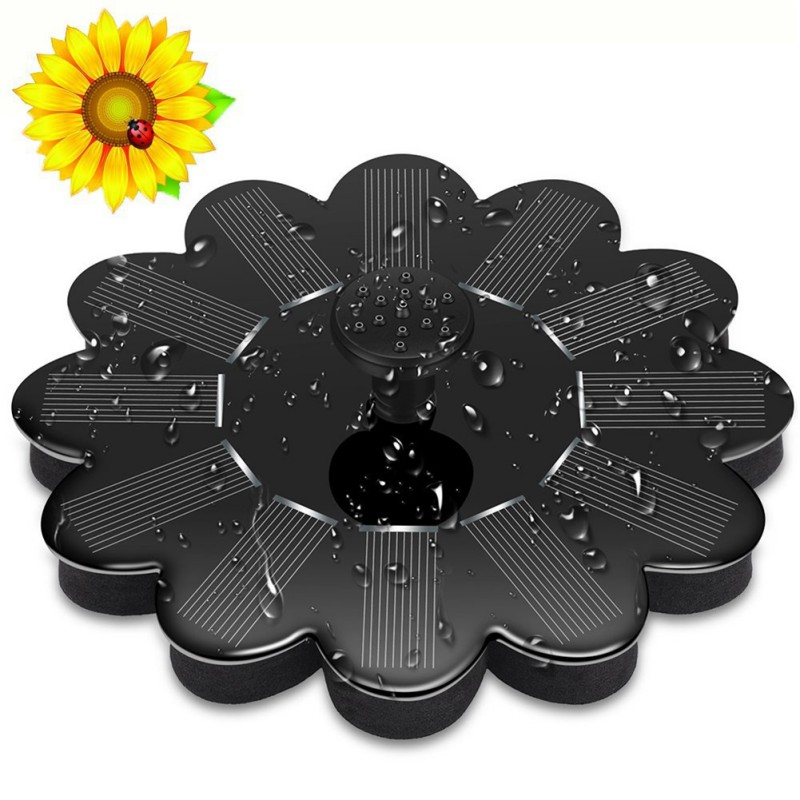 Solar Water Pump Power Water pomp Panel Fountain Pool Garden Pond Submersible Watering Pool Automatical for Fountains Waterfall