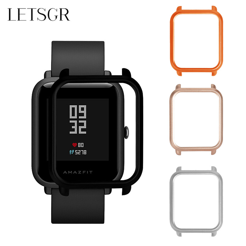 LETSGR Soft TPU Silicone Protector Case for Huami Amazfit Bip Youth Smart Watch Protection Case Cover for Xiaomi Amazfit Bip стоимость