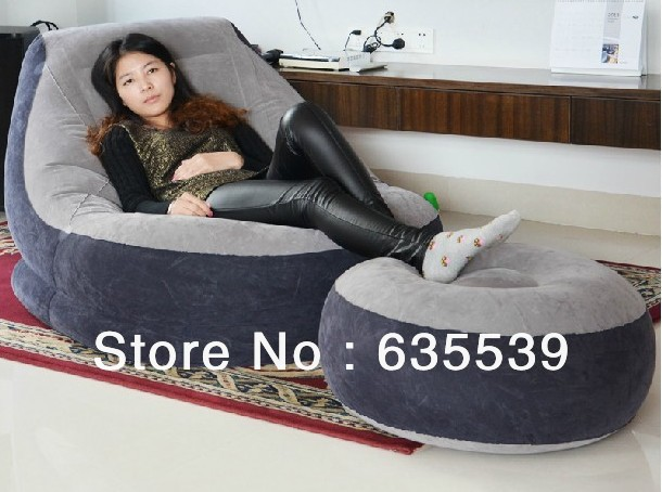 LAZY AIR INFLATION SOFA FOR SLEEPING AND RECLINER with STOOL +AIR PUMP  sc 1 st  AliExpress.com & LAZY AIR INFLATION SOFA FOR SLEEPING AND RECLINER with STOOL +AIR ... islam-shia.org