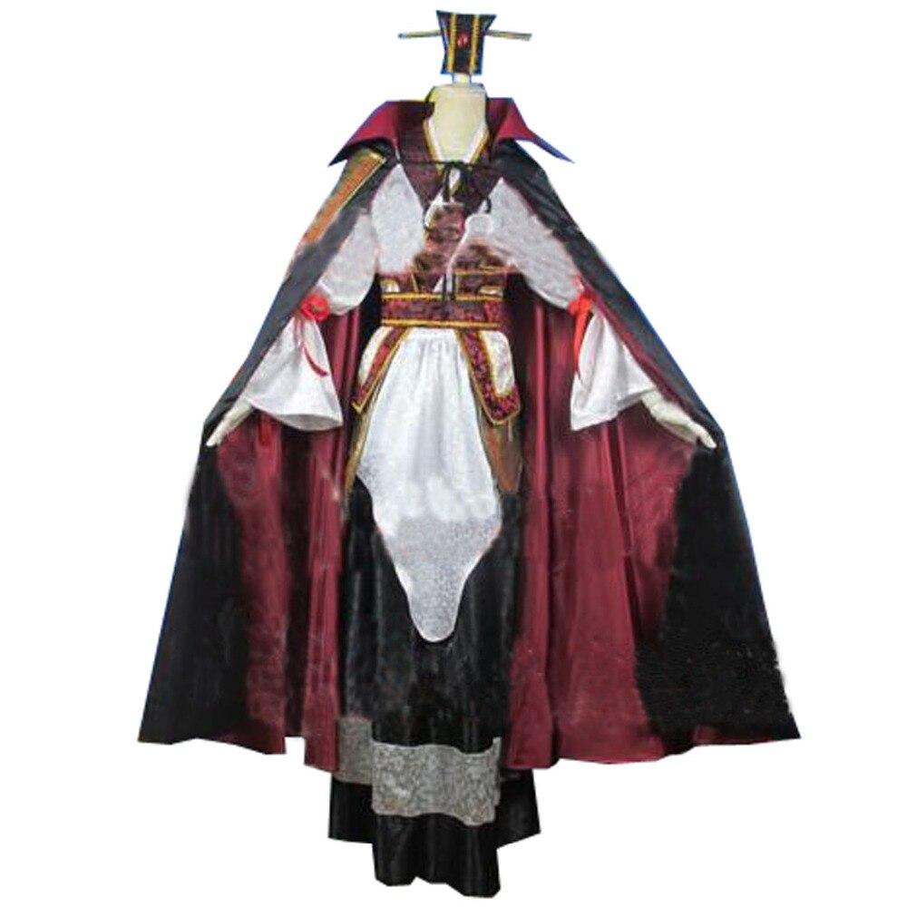 2018 волхвов: Лабиринт Магия kouen ren Косплэй костюм костюмы на Хэллоуин со шляпой