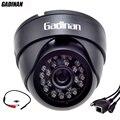 Gadinan ONVIF Wired P2P Áudio Câmera IP H.264 Rede CCTV Câmera Dome Interior Com a Captação de Áudio Externo 720 P/960 P/1080 P