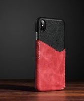 For Iphone 6 6s 7 Plus Genuine Leather Dermic Case Cover Card Slot Slim Cases Business