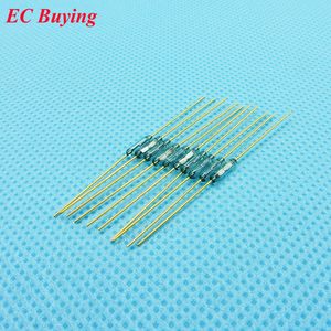 Image 4 - 100pcs Reed Switch 1.8 *7mm Magnetic Control Switch Green Glass Reed Switches Glass Normally Open Contact For Sensors NO