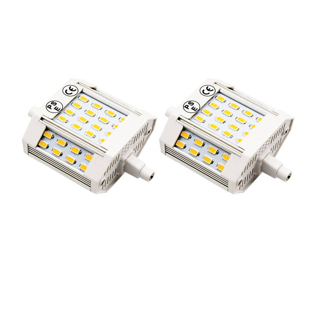 78mm R7S LED, 10 Watts J78 LED 78mm Halogen Replacement