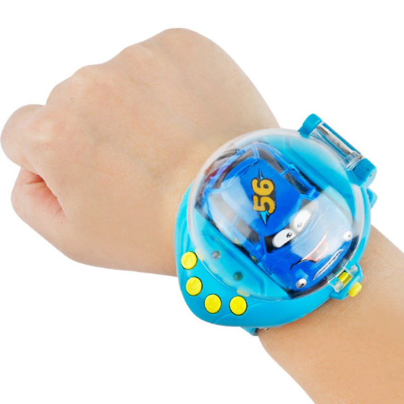 Baby Remote Control Car Toy Mini Cartoon Sensing Gravity Remote Control Car USB Rechargeable Baby Watch Induction Toys