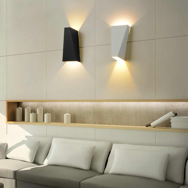 Lyfs 2019 Настенный бра светодиодный светильник 10 Вт алюминиевые кровати свет чтения вверх и вниз для коридор ванной поверхностного монтажа