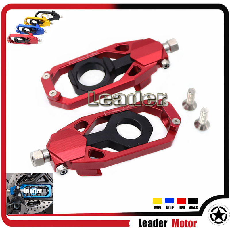 For YAMAHA TMAX 530 T-MAX530 2012-2014 Motorcycle Accessories Parts CNC Tensioners Catena rear axle spindle chain adjuster Red motorcycle accessories new parts transmission belt pulley protective cover blue for yamaha t max 530 tmax530 t max530 2012 2015