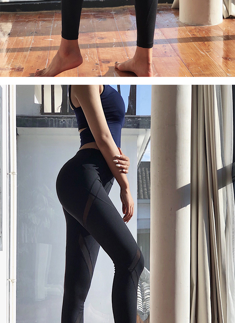 abb9753ae526de 2019 Lucylizz Mesh Booty Shaping Sport Leggings Fitness Women Breathable  Yoga Pants Gym Leggings Jogging Femme Running Pants #157135 From I_jersey,  ...