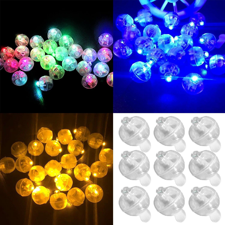 Light 50 Led Blanc Ball Pièces Papier Maison Lanterne Lampes Ballons 8vmN0OywnP