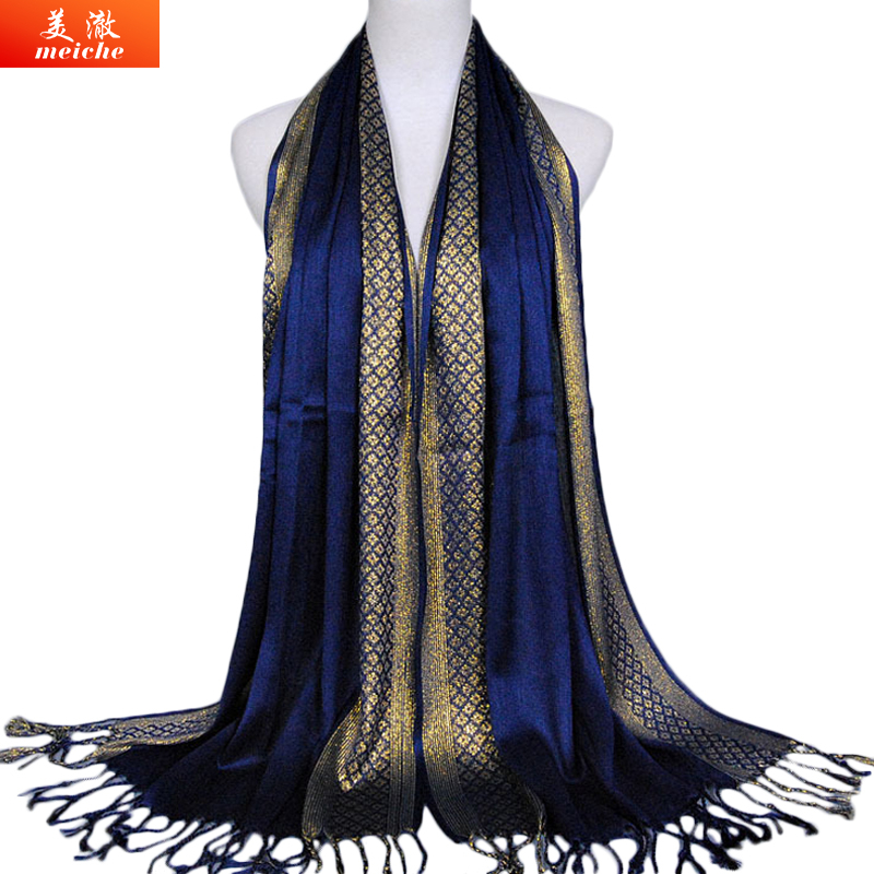Meiche Fashion Tassel Scarf Women Soft Cotton Scarves Spring Summer Sunscreen Shawl Muslim Poncho New Luxury Brand Women Scarf