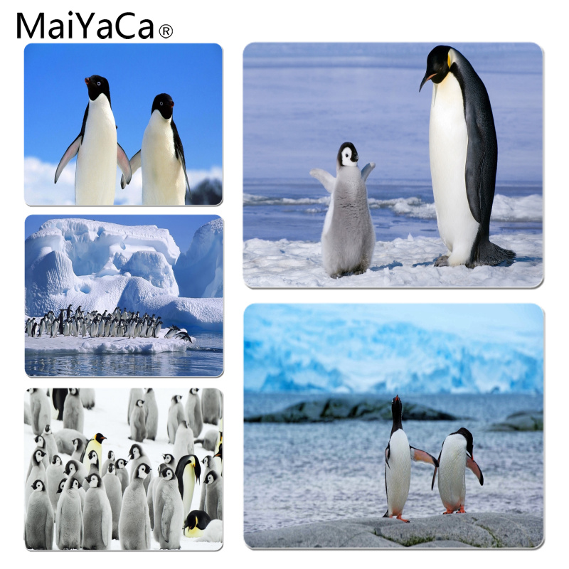 MaiYaCa Penguins Large Mouse pad PC Computer mat Size for 18x22x0.2cm Gaming Mousepads