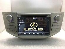 Quad core Android 6.0 reproductor de DVD del coche gps BLUETOOTH WIFI 3G cámara para lexus rx300, rx330, rx350 2004/05/06/07 toyota Harrier