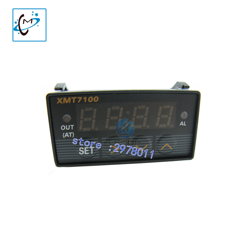 digital printer spare parts temperature controller pid XMT7100 for xuli sunika litu thunderjet skycolor piezo inkjet printer hot sale uv flatbed plotter printer spare parts gongzheng gz thunderjet black sub ink tank with level sensor