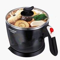 220V Electric Multi Cooker Household Hot Pot Cooking Machine Portable Mini Cooker Pot For Travel Multifunction Pot EU/AU/UK/US
