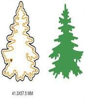 Christmas Tree Metal Cutting Dies Stencils Template For Scrapbooking Card Album Embossing Decor DIY Metal Crafts