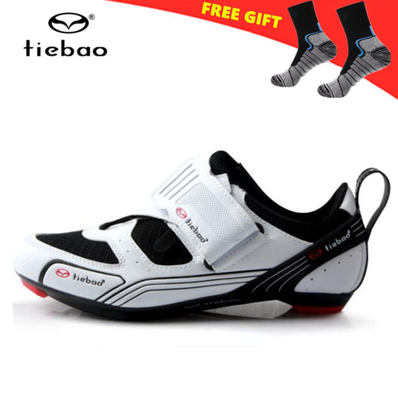 TIEBAO Cycling Shoes Bicycle zapatillas deportivas mujer Sports off Road Bike Shoes Men Athletic Shoes Bike Sapatilha Ciclismo tiebao cycling shoes socks zapatillas deportivas mujer sneakers women off road athletic bike shoes chaussure velo de route