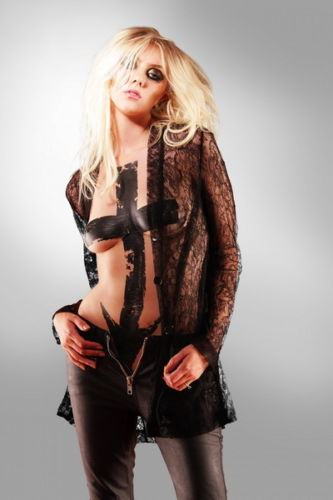 The Pretty Reckless - Hot Taylor Momsen Rock Band Silk Poster Art Bedroom Decoration 0774
