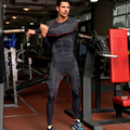 Mens Sport Legging Workout Exercise Gym Pants Fitness Jogging Running Leggings