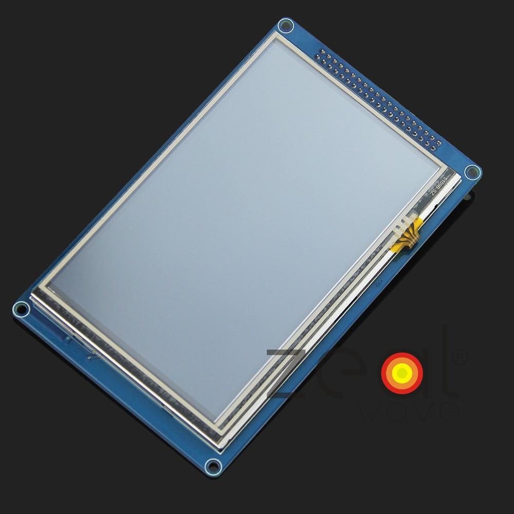 5.0 800x480 TFT LCD Touch Screen del Pannello PCB Bordo di Driver IC SSD1963 Scheda SD Per Arduino5.0 800x480 TFT LCD Touch Screen del Pannello PCB Bordo di Driver IC SSD1963 Scheda SD Per Arduino
