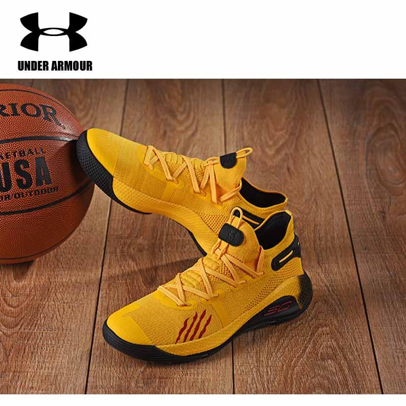 Under Armour hommes Curry 6 chaussures de basket nouvelle botte d'entraînement sous armure coussin baskets Zapatillas hombre deportiva US7-12