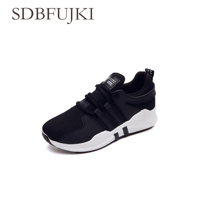 Sneakers Vrouwen Sport Schoenen Lace Up Beginner Rubber Fashion Mesh Ronde Kruis Bandjes Loopschoenen Casual Schoenen SDBFUJKI in Running Shoes from Sports Entertainment