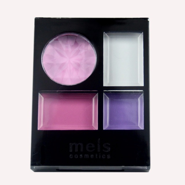 MEIS Brand Makeup Cosmetics Professional Makeup 4 Colors Eye Shadow Eyeshadow Palette Matte Eyeshadow Eye Shadow Palette MS0413