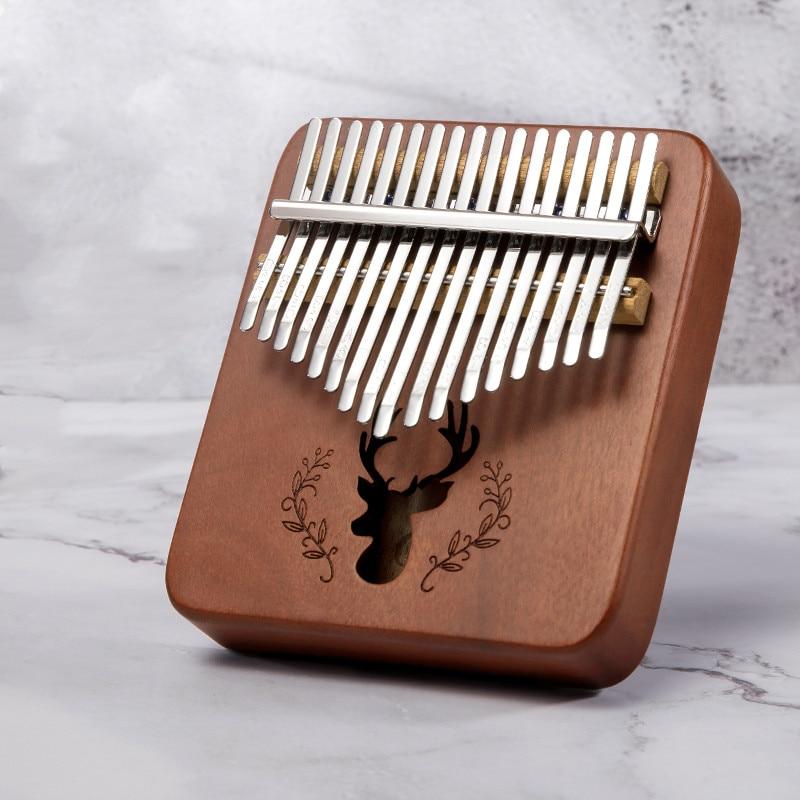 Sc Outdoor 17 Keys Handy Protable Kalimba Cute Mini Kalimba Thumb Piano Instruments For Kids And Lady