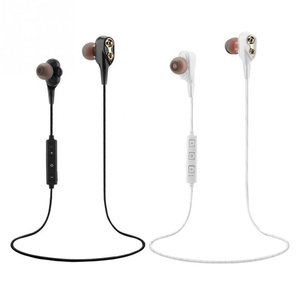 Mini Wireless Bluetooth Earphone in ear Sports with Mic Earbuds Handsfree Headset Earphones Earpiece for iPhone 7 magnetic attraction bluetooth earphone headset waterproof sports 4.2