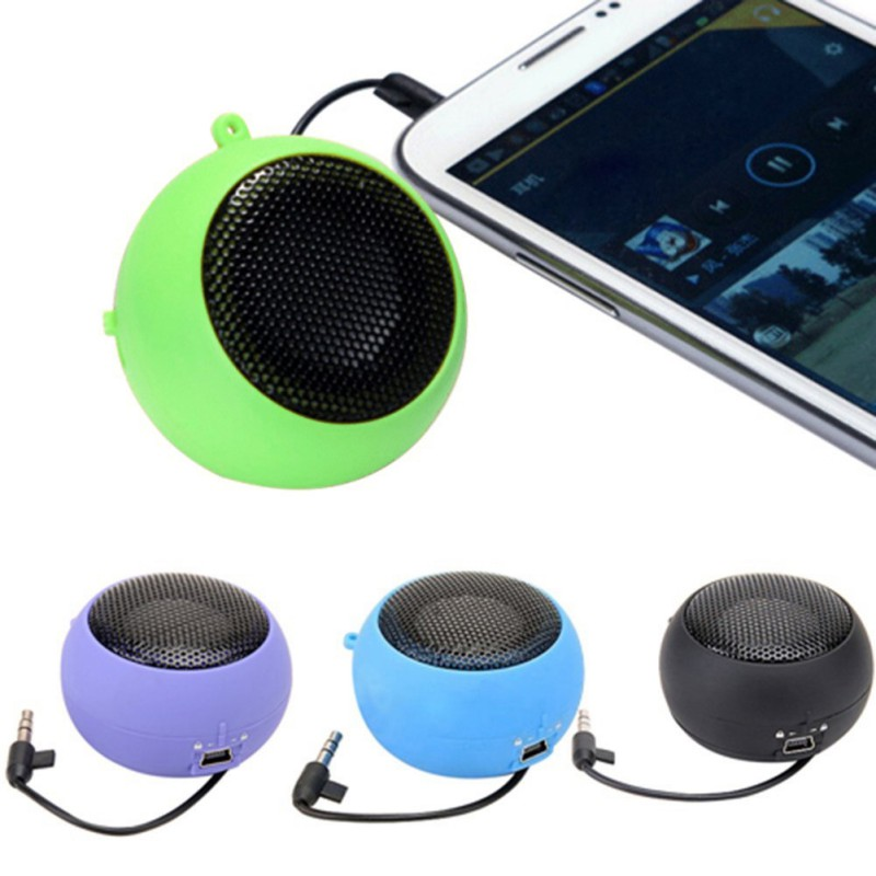 ipad iphone Colorful Mini Hamburger Speaker Amplifier For iPod iPad Laptop for iPhone Tablet PC (1)