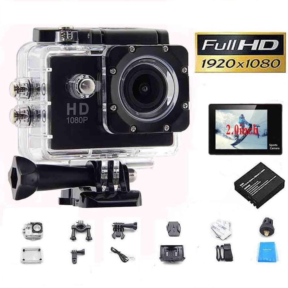 1080P Full HD Video Action Sport Mini Camera Waterproof Case DV Water Resistant Cam Underwater Diving