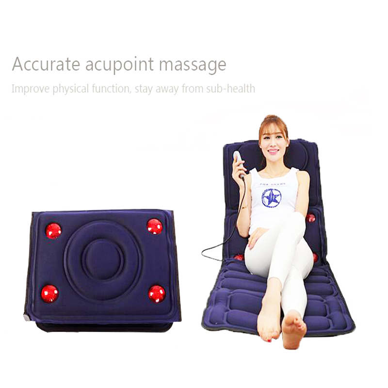 Body Massager Far Infrarød Massage Pads Træthed Vibration Madras - Sundhedspleje - Foto 4