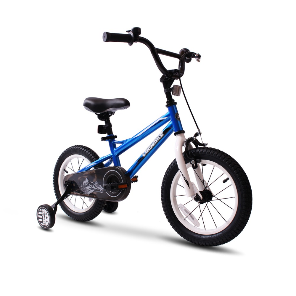 BMX cyclisme enfant vélos enfants vélo fille garçon 12-16 pouces roue d'entraînement