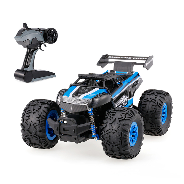 1/18 2.4G 2WD Electric Remote Control Car Model Monster Truck Off-road Vehicle RTR RC Car Toys for Children Adults