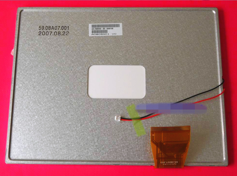 RGB A080SN01 V0 Screen Panel Display 8.0 inch AUO 800 ×600 Resolution