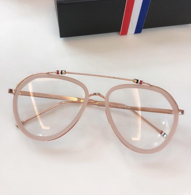 New York Vintage optique thom lunettes cadre hommes femmes ordinateur myopie lunettes de vue lunettes cadre femmes femme avec boîte - 3
