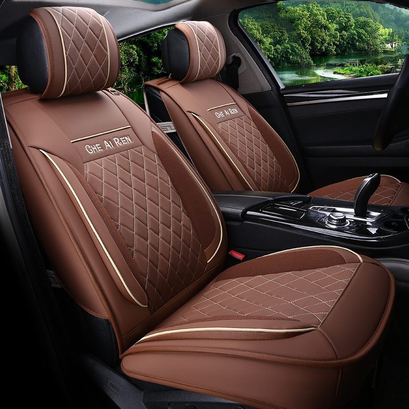 Car Styling Leather Seat Covers For Hyundai Elantra Sonata