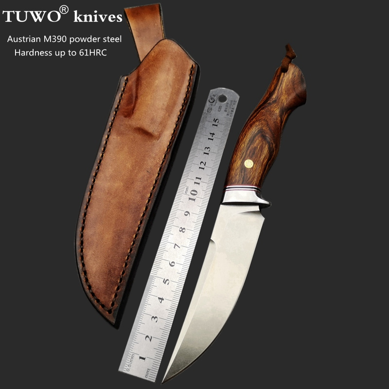 TUWO Knives M390 Powder Steel Knives Of High-grade Outdoor Hunting Knives Tactical Knives Collection Of High Hardness Straight K