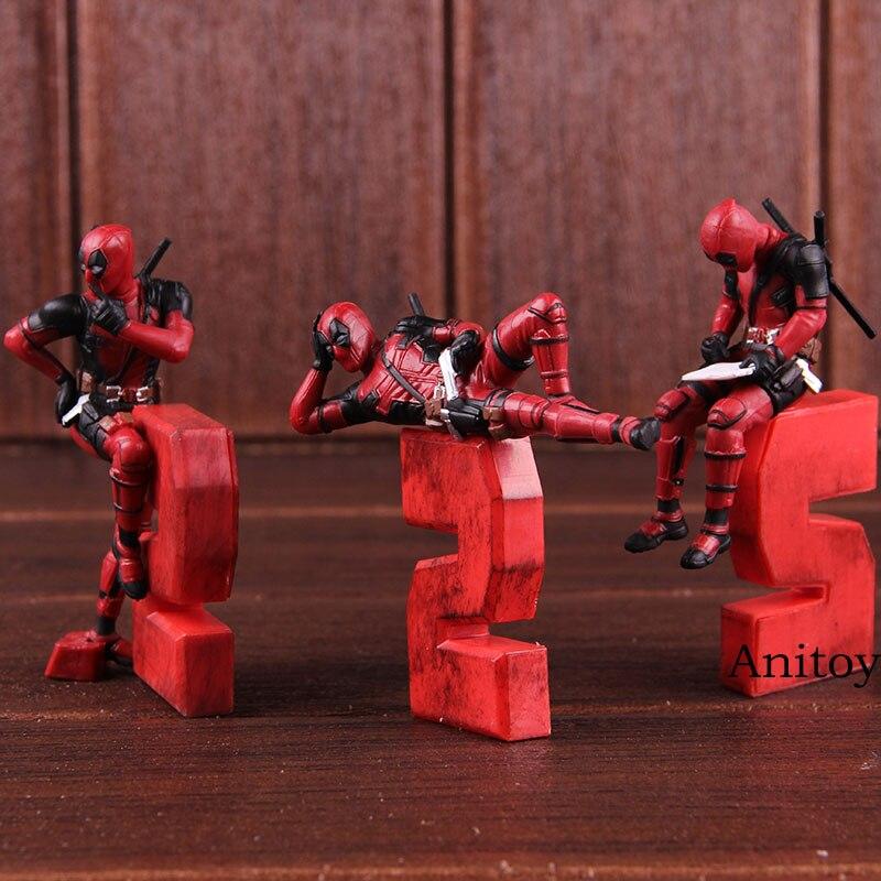 Pemodelan Deadpool Dekorasi Lucu