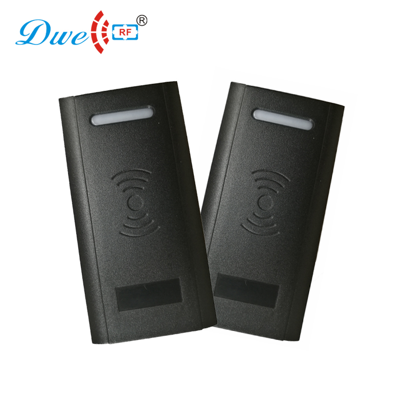DWE CC RF card readers 125khz access control accessory door opener contactless card rfid reader price with wg26 or 34 dwe cc rf wiegand26 125khz rfid id card tag keyfob reader waterproof access control wg26