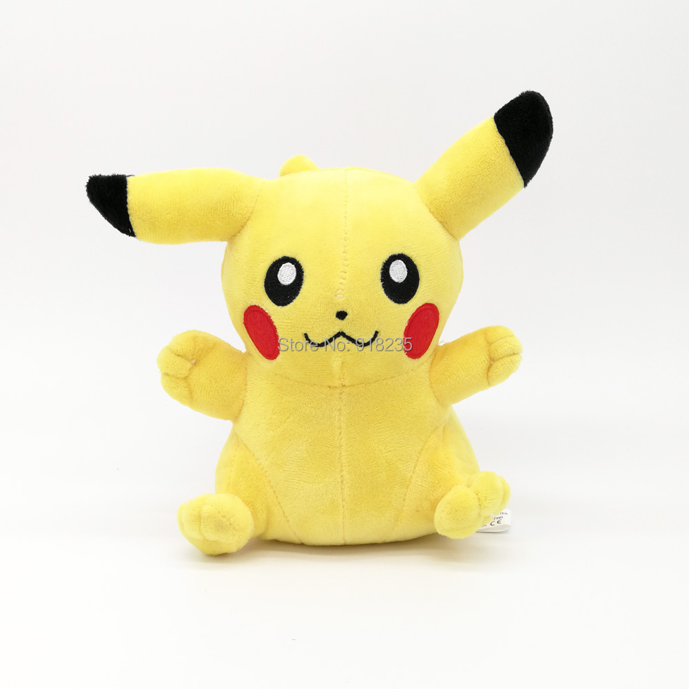 10/Lot Pikachu 18CM Plush Doll Soft Cartoon Dolls Christmas Gift Stuffed Toys-in Movies & TV from Toys & Hobbies on AliExpress - 11.11_Double 11_Singles' Day 1
