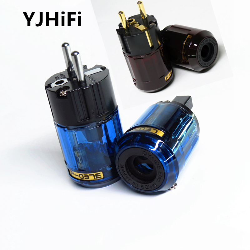 New Gold Plated C-079 IEC + P-079e P-037e+ C-037 power plug Eu plug For Audio Connector Schuko new EUR US Power plugs все цены