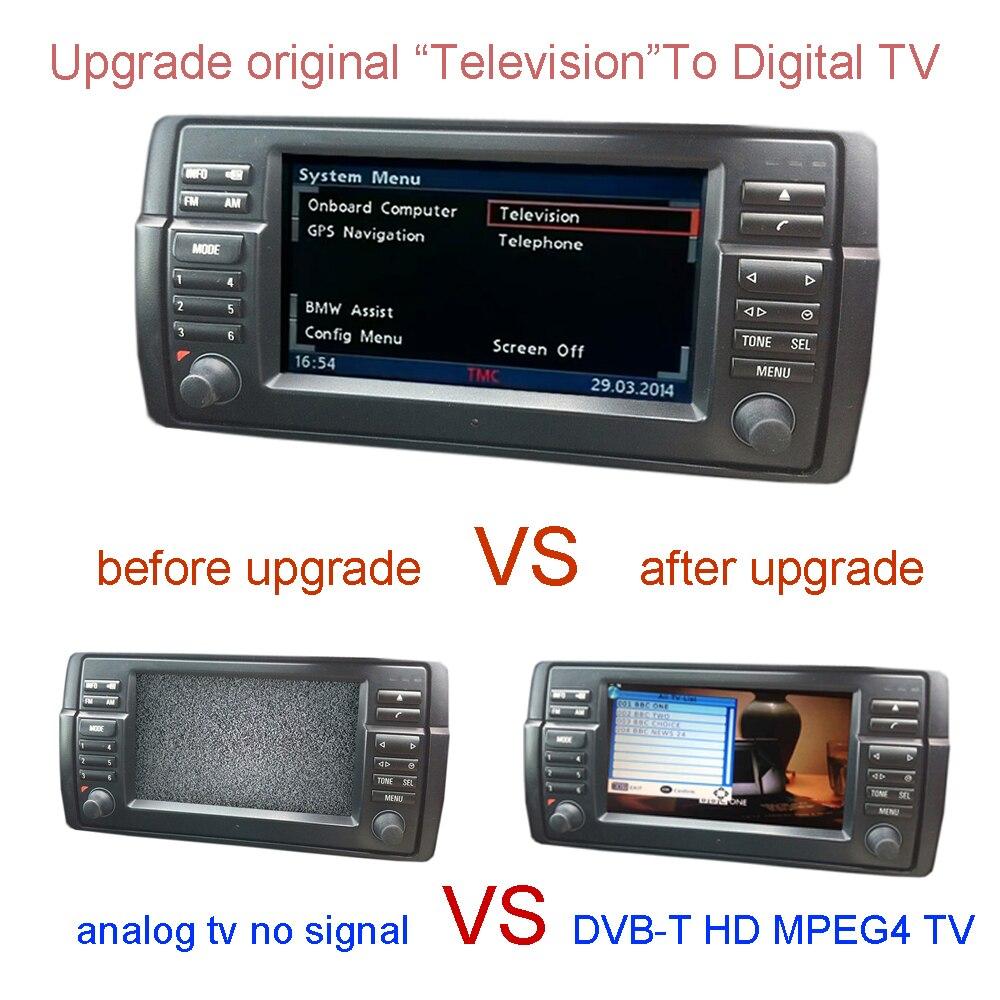 TÉLÉVISION DVB-T Pour BMW E38 E39 E46 X5 E53 X3 E83, Z4 E85