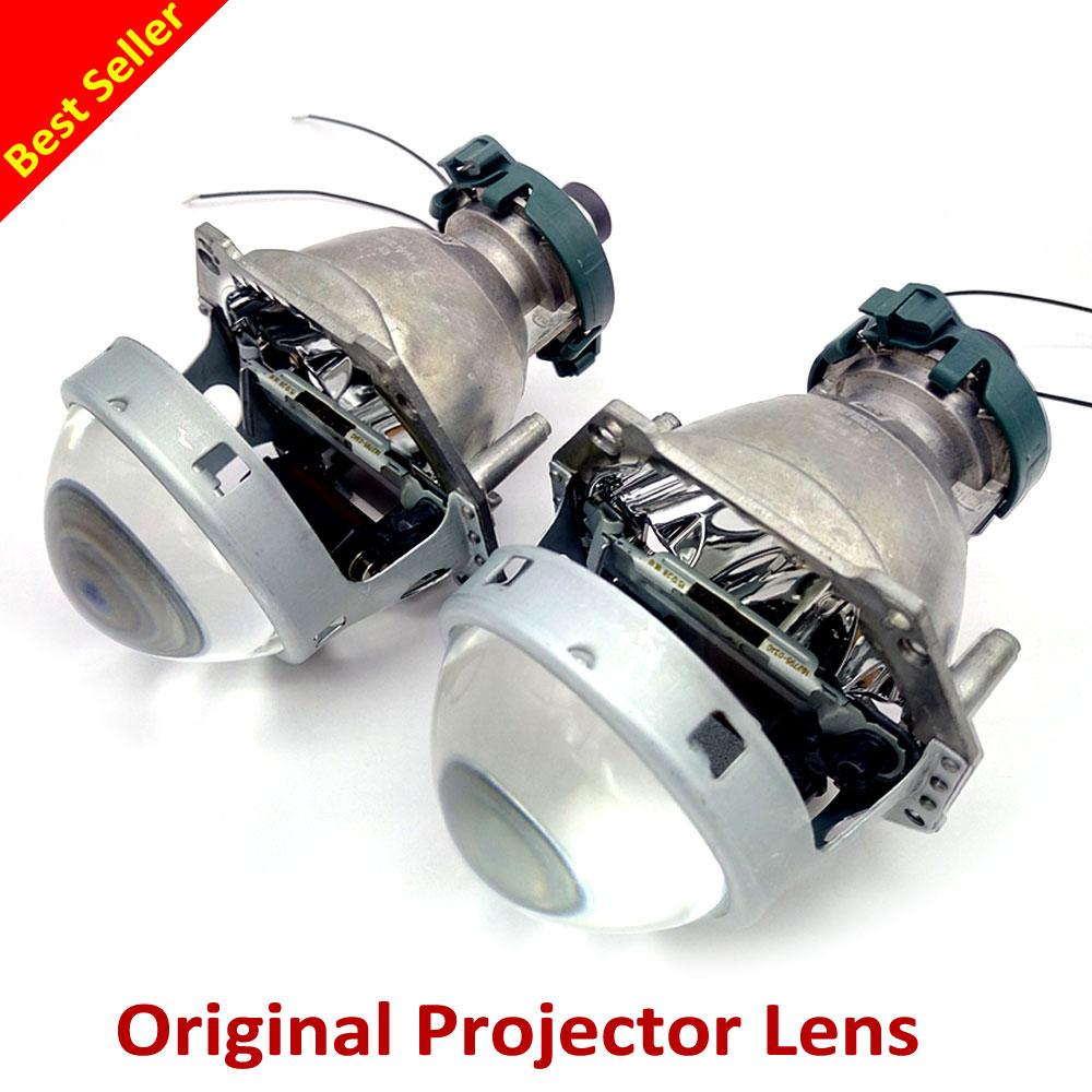 Hella Projector Lens Aluminum 3.0 Inches Bi Xenon Projector Lens Car Hid Headlight Modify D1S D2S D3S D4S Reflector Hi/Lo Beam 1x original hella projector control wire q5 bi xenon hid projector solenoid wire plug pigtail set wiring car styling accessories