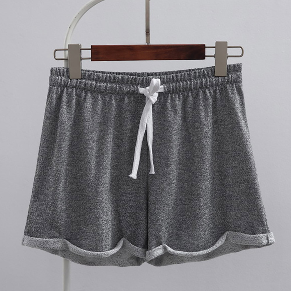 Accessory - Solid Casual Fitness Shorts