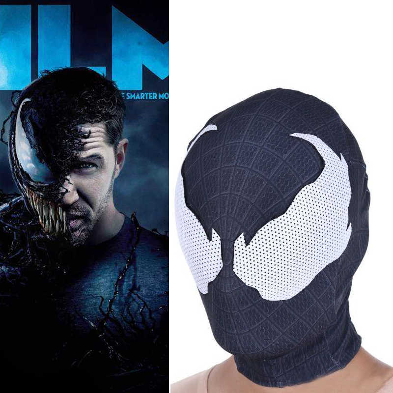 Venom Cosplay Spandex Mask Terror Dark Spider-Man Masks Women Men Halloween Gifts