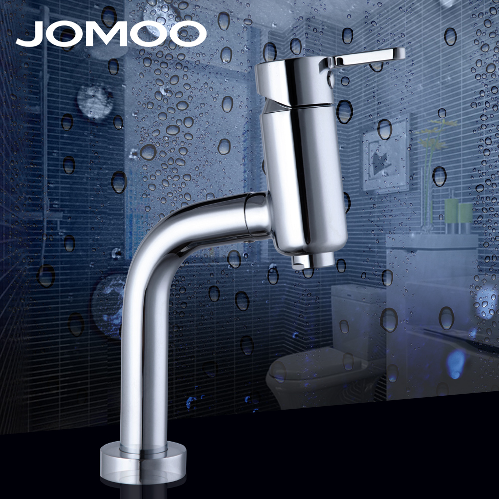 JOMOO Brazil Design bathroom faucet deck mounted chrome finish basin mixer tap single hole single handle Kitchen sink faucet вырубщик для значков handling cutter d 32мм