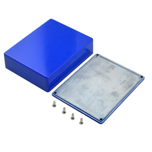 1590BB  pedal cases guitar Aluminium Stomp Box  Pedal Enclosure deep blue With 4 Screws for Guitar Parts & Accessories