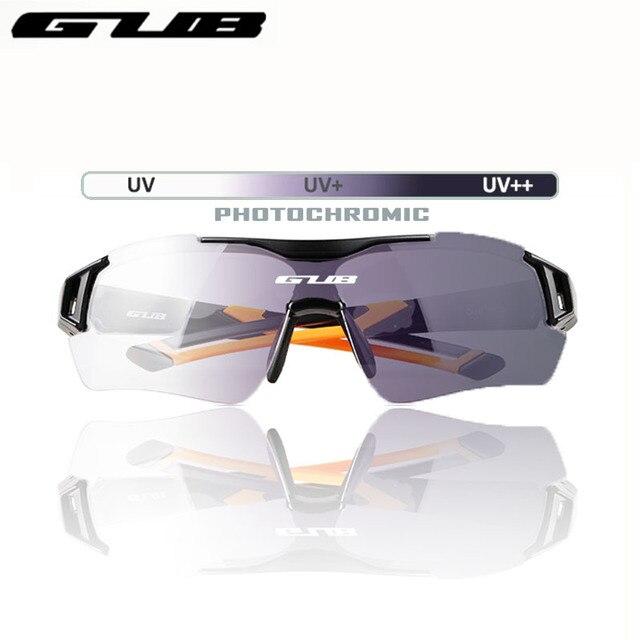 3c24dcf757a GUB 5600 Cycling Photochromic Glasses Automatic discoloration MTB Bike  Eyewear Bicycle Eyeglasses Outdoor Sports Sunglasses